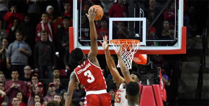 OG Anunoby will miss the rest of Indiana's basketball season with knee surgery.