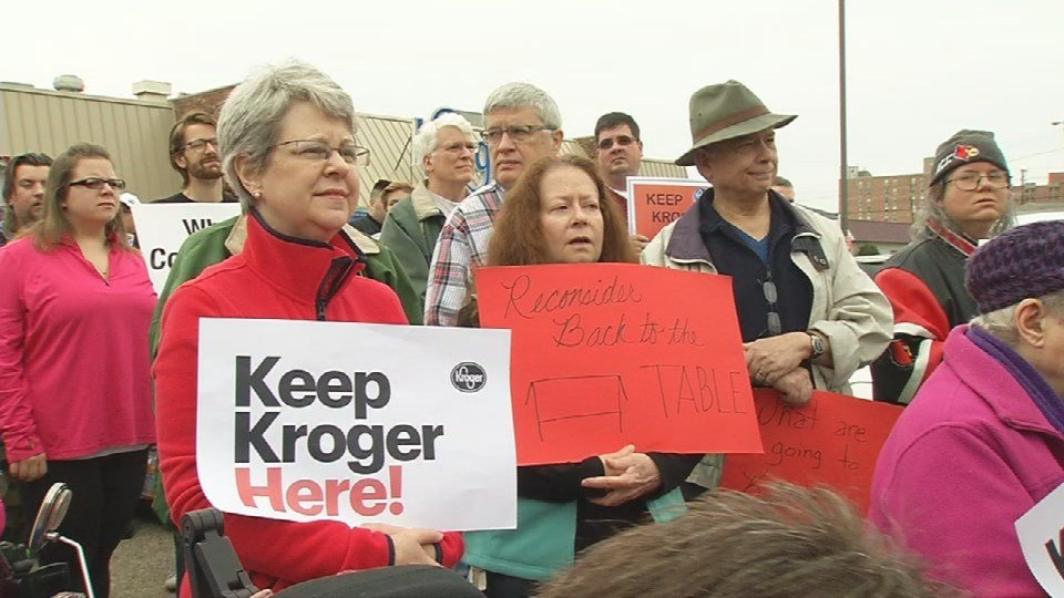 Dozens of neighbors in Old Louisville demonstrated outside the store over the weekend, hoping to keep it open.