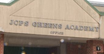 JCPS Gheens Academy, located on Preston Highway (WDRB file photo)
