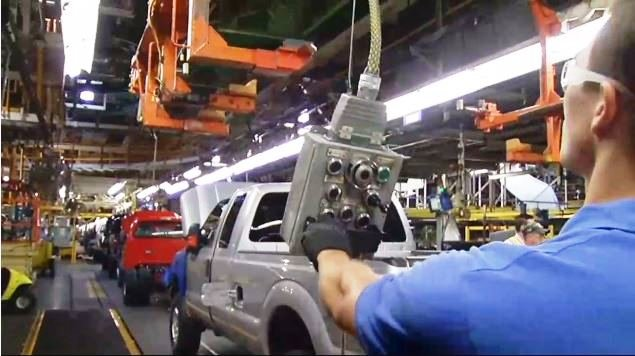 Ford's Kentucky Truck Plant in 2015