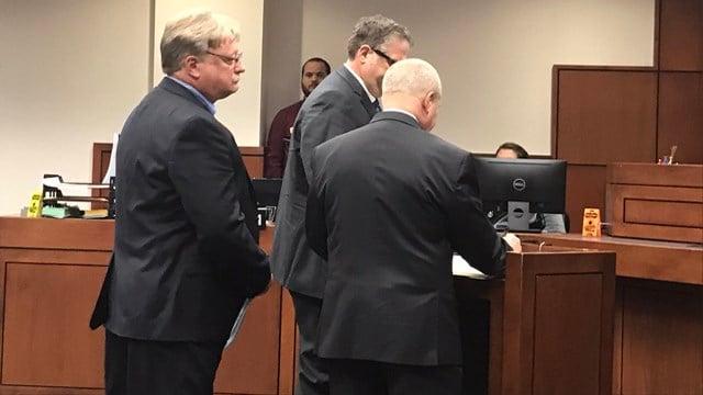 Metro Corrections Director Mark Bolton comes before Judge Stephanie Burke