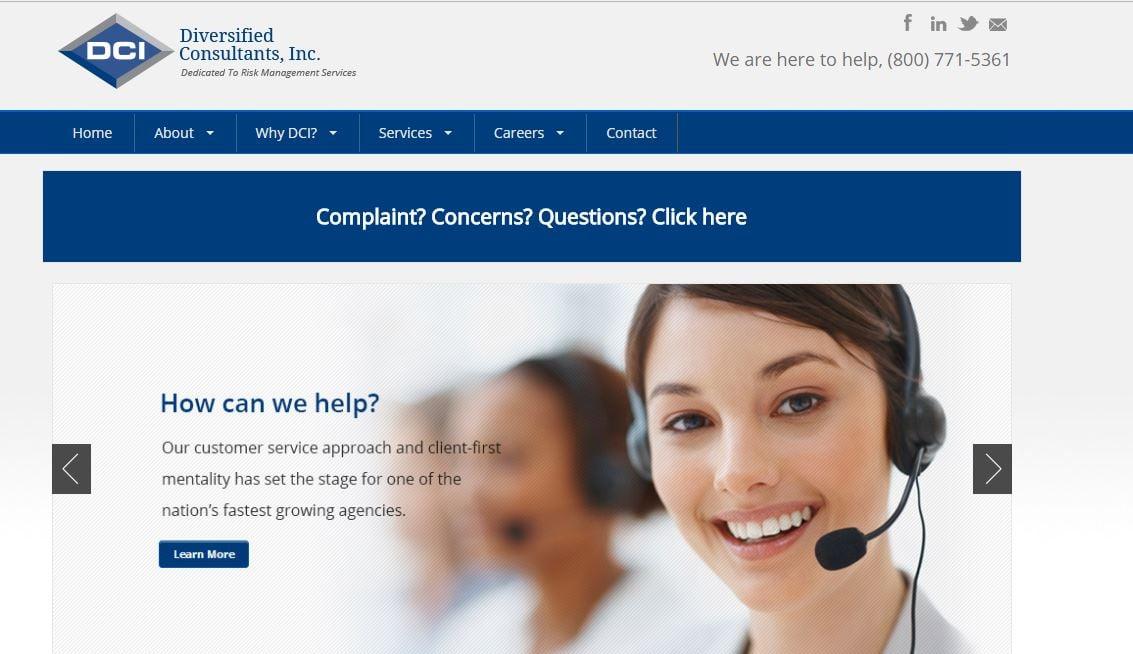 DCI's website
