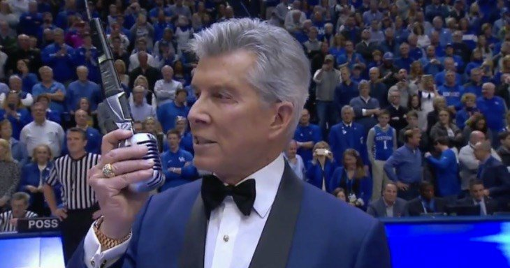 Kansas took Michael Buffer's invitation to rumble seriously at Kentucky Saturday.