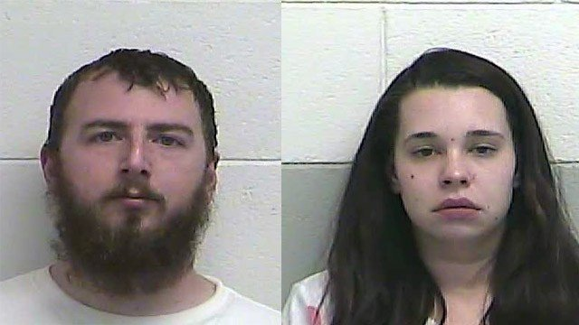 John Patterson and Leah Pallaro (Source: Casey County Detention Center)