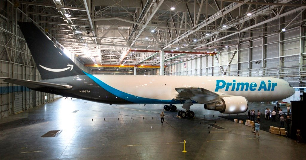 Amazon unveiled its air cargo fleet in 2016 and will make Northern Kentucky its air hub.