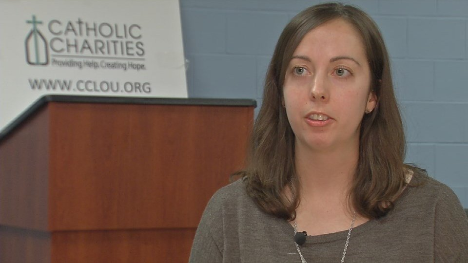 Maria Koerner, assistant director of the Kentucky Office of Refugees.