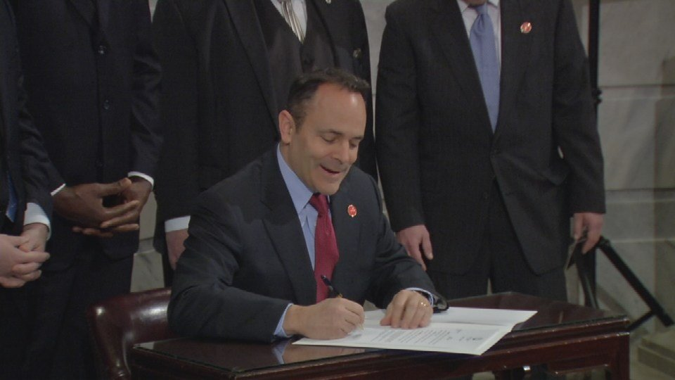 Gov. Matt Bevin signs Fair Chance Employment Initiative