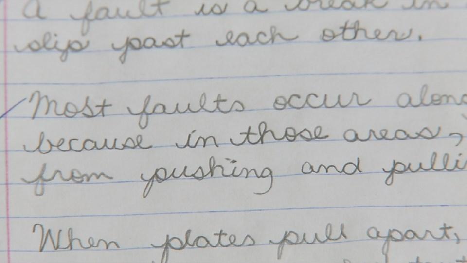 New Indiana law ensures schools may teach cursive writing.