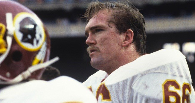 Former U of L and Western High School player Joe Jacoby is one of 15 finalists for the Pro Football Hall of Fame (Redskins.com photo).