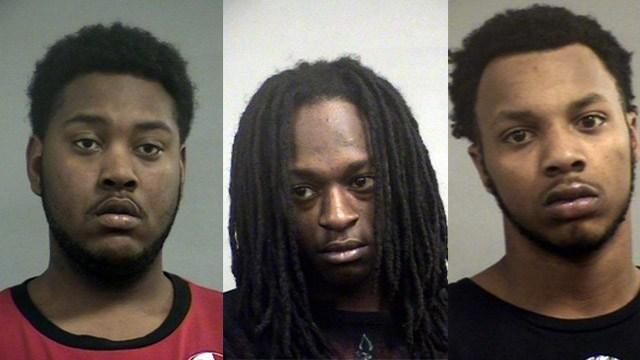 Deshaun West, Ledrae Smith and Javion Twitty (Source: Louisville Metro Corrections)