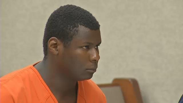 Andre Banks during a court appearance.