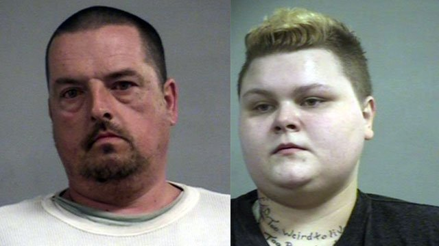 Evert Baker and Amber Jewell (Source: Louisville Metro Corrections)