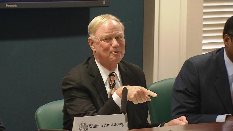 Former U of L President James Ramsey