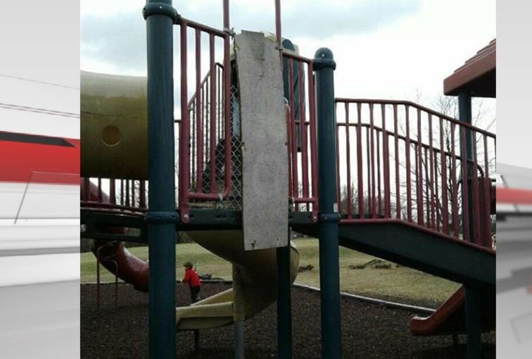 Sections of Zachary Taylor Elementary School's playground have been fenced off to keep kids out. Officials say the community has been using the playground as a public park, and it has taken a toll on the equipment.