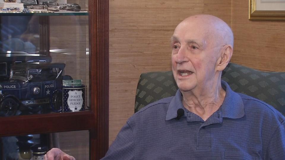 Retired Capt. Mort Childress