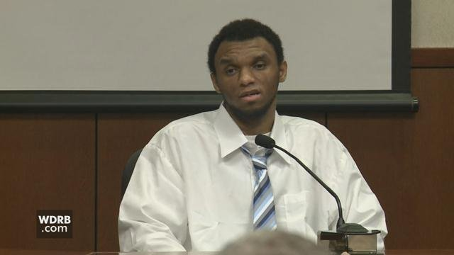 Trey Anderson testified in the murder trial of three men accused of killing a 16-month-old girl in August of 2014.