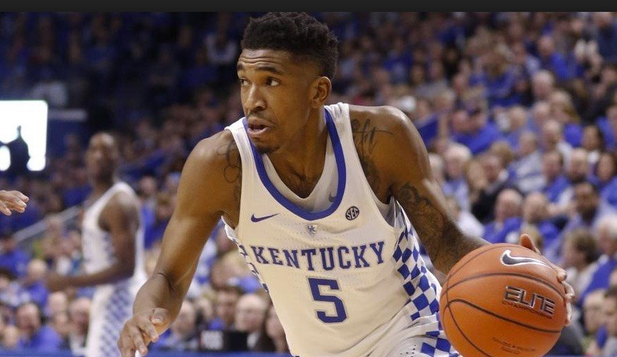 Malik Monk scored 30 points in the second half as Kentucky rallied to beat Florida.