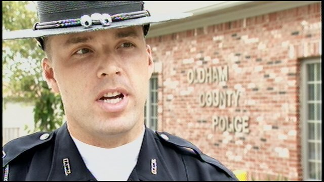 Officer Chris Morris, Oldham County Police