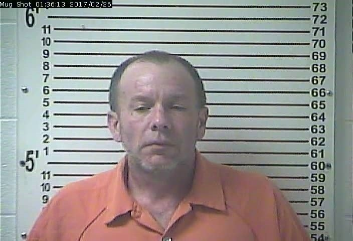 Steven Shook (Image Source: Hardin County Jail)