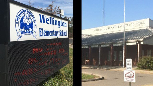 Results of state audits conducted at Maupin and Wellington elementary schools were released on Friday. (WDRB News file photo)