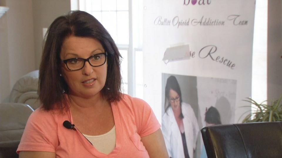 Jennifer Punkin-Stepp, founder of the Bullitt Opioid Addiction Team.