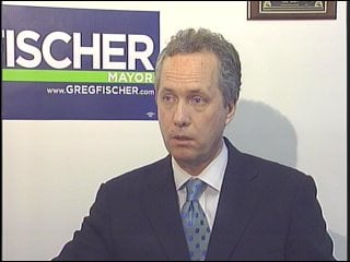 Democratic candidate Greg Fischer