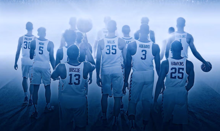 The image from Kentucky's 2016-17 media guide. (UK athletics photo)