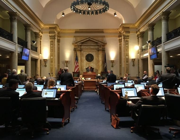 The Kentucky Senate approved a revised charter schools bill on Wednesday.