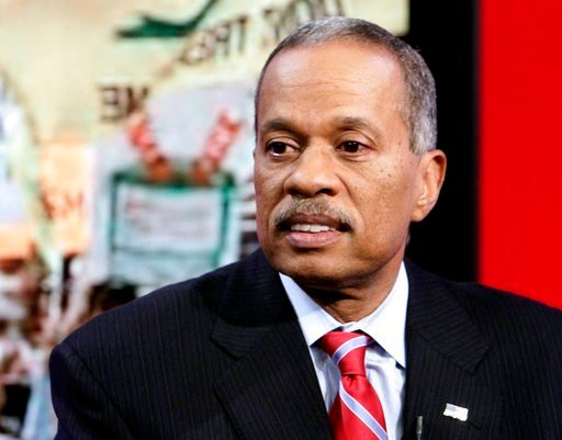 "(AP Photo/Richard Drew, File). FILE - In this Oct. 21, 2010, file photo, Juan Williams appears on the ""Fox & Friends"" television program in New York."