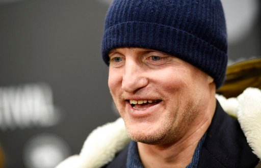 "(Photo by Chris Pizzello/Invision/AP, File). FILE - In this Jan. 22, 2017, file photo, Woody Harrelson, a cast member in ""Wilson,"" is interviewed at the premiere of the film at the Eccles Theatre during the 2017 Sundance Film Festival"