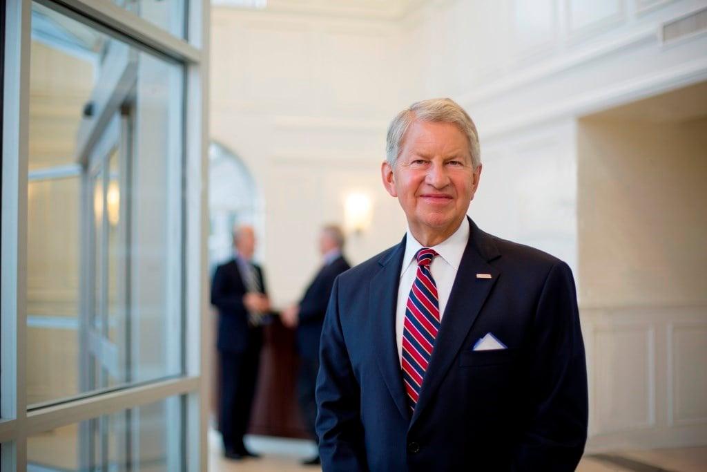 Baptist Health CEO Steve Hanson left the organization effective March 21, 2017.