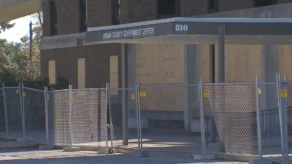 The Urban Government Building at 810 Barret Ave sits vacant.