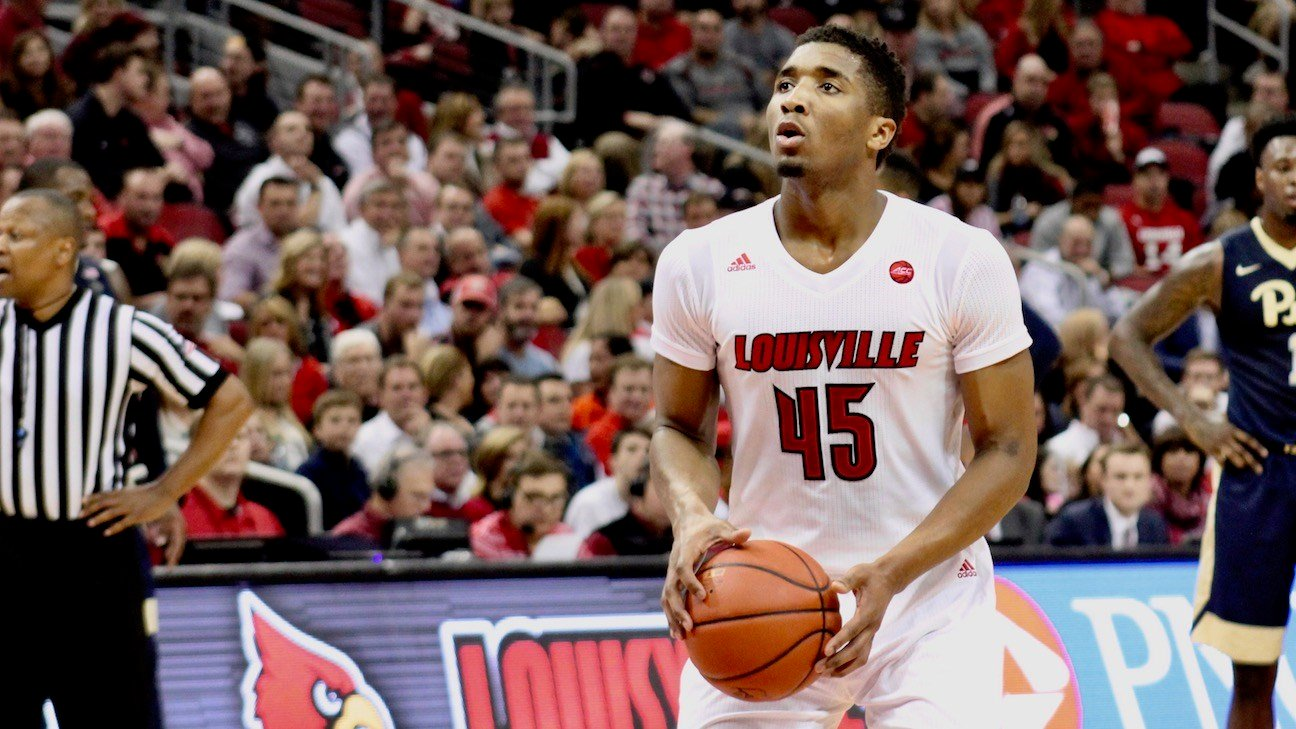 CRAWFORD   Louisville's Mitchell, Adel, Johnson to test draft waters, three thoughts on Mitchell's decision
