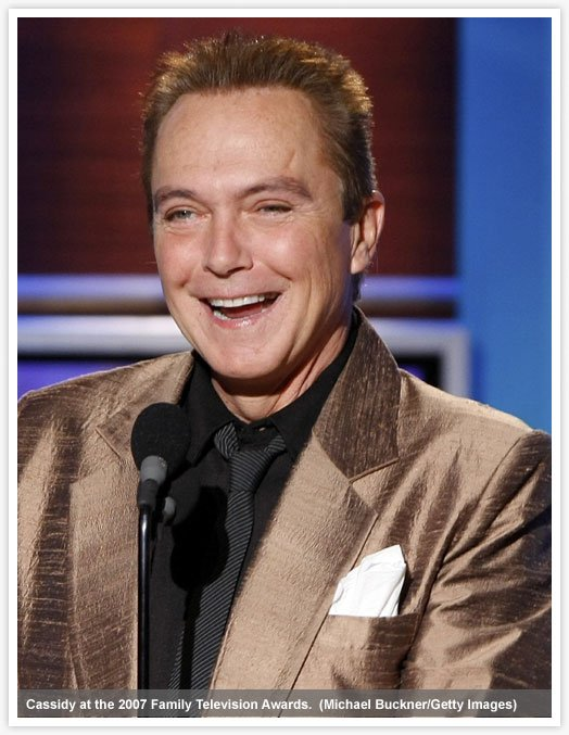 David Cassidy in better days