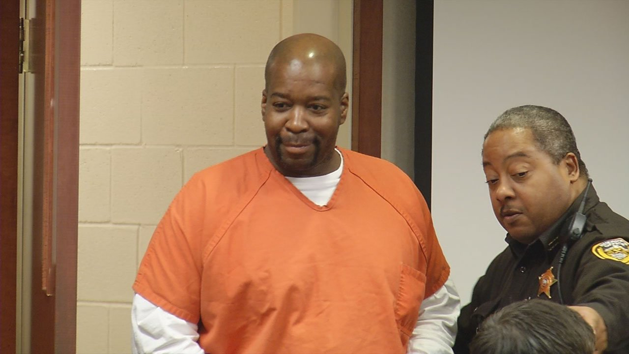 Michael Brizendine in court on Thursday. He is ordered released after more than 20 years in prison.