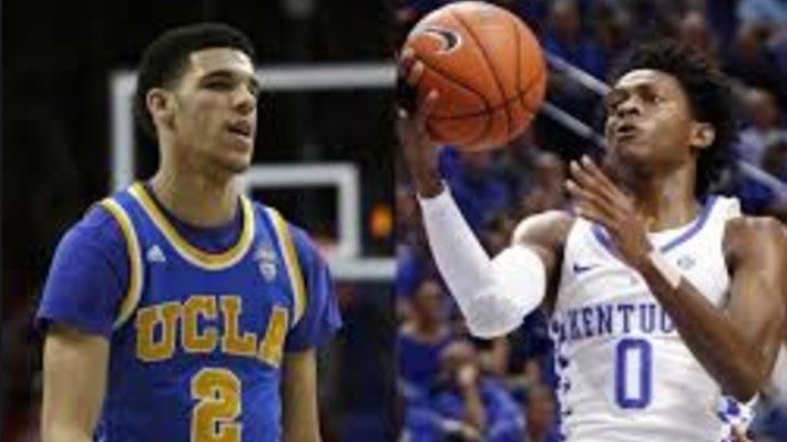 The match-up between UCLA's Lonzo Ball and Kentucky's De'Aaron Fox will be key in the Sweet Sixteen Friday night.