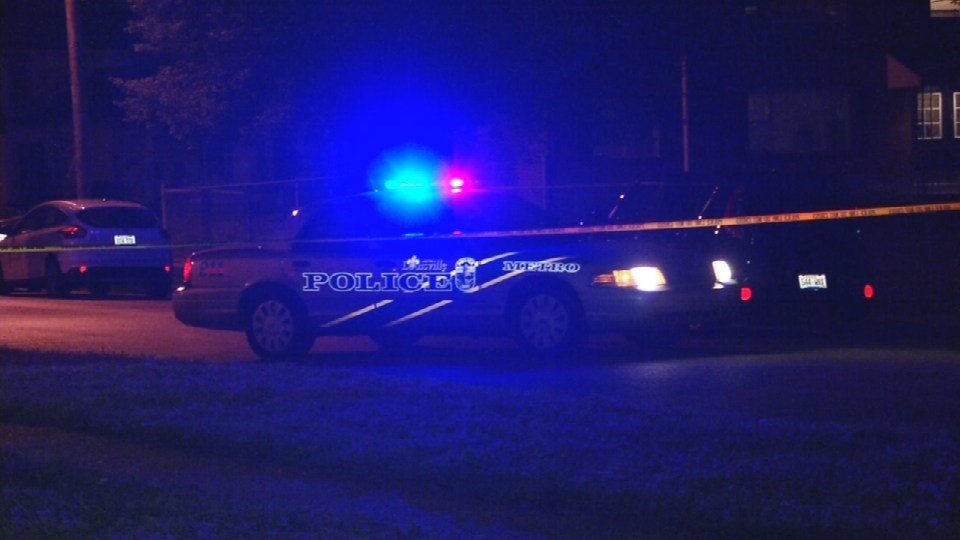 At 12:30 a.m. police found a man dead in an alley at 38th and Grand
