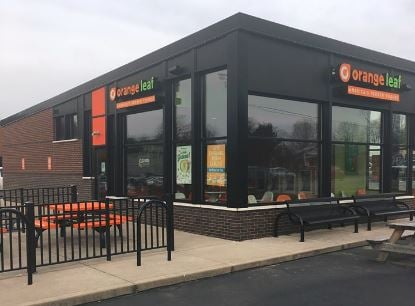 Orange Leaf Frozen Yogurt, located at 3012 Bardstown Road