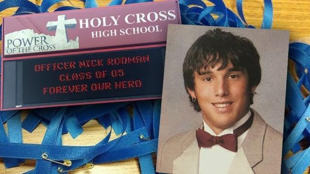 Fallen LMPD officer Nick Rodman was a 2005 graduate of Holy Cross High School.