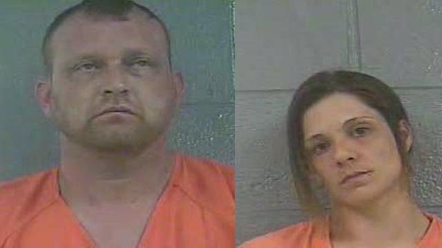 Larry Kennedy and Melissa Brown (Source: Bullitt County Detention Center)