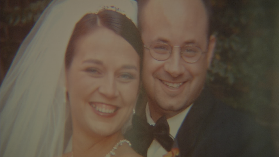 Meredith Clipp Rodriquez and her late husband Josh Rodriquez.