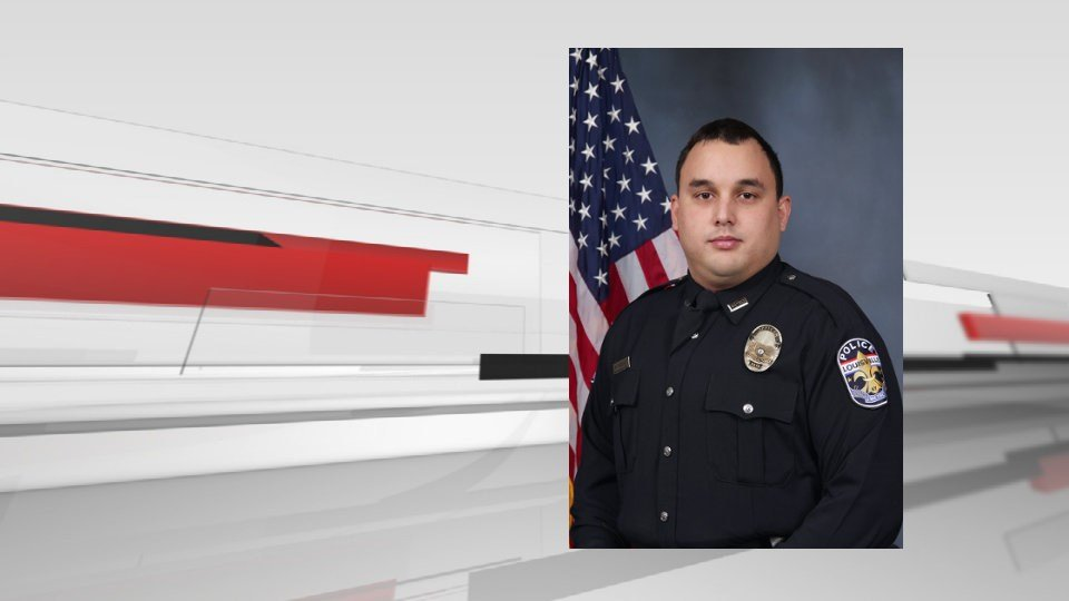 LMPD Officer Nick Rodman died March 29, 2017, one day after his patrol car was hit by a suspect fleeing from police.