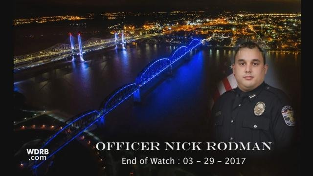 Rodman was a native of Louisville and served with LMPD for three years.