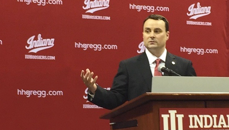 Indians basketball coach Archie Miller spoke to Rick Bozich and four other writers Wednesday.