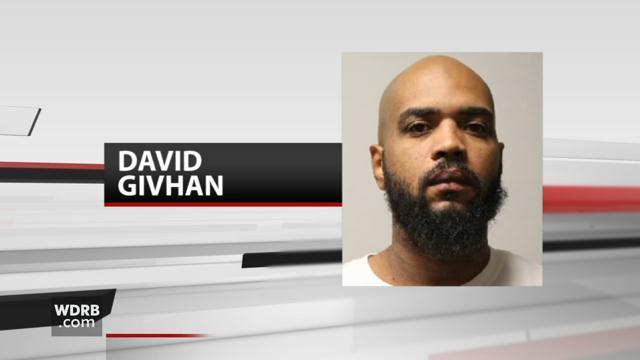 David Givhan (source: Louisville Metro Corrections)