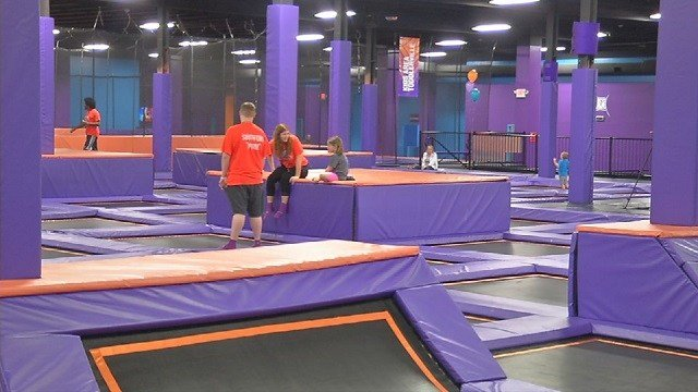 Altitude Trampoline Park opened on Dixie Highway in April of 2017.