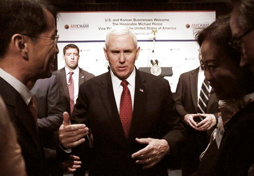 US VP Mike Pence reassures Japan of US resolve against North Korea