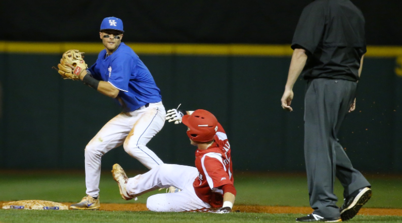 Kentucky and Louisville split their baseball season series. (Photo by UK Athletics.)