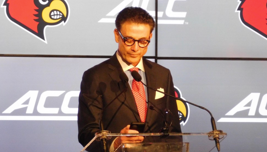 Rick Pitino and U of L representatives are meeting with the NCAA on Thursday.