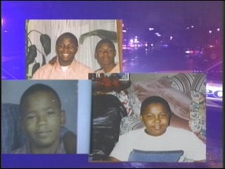 Aaron Shields and Marc, Demar and Jamar Claybrooks died in the crash.